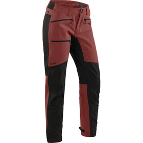 Haglöfs Rugged Flex Housut Naiset, maroon red/true black
